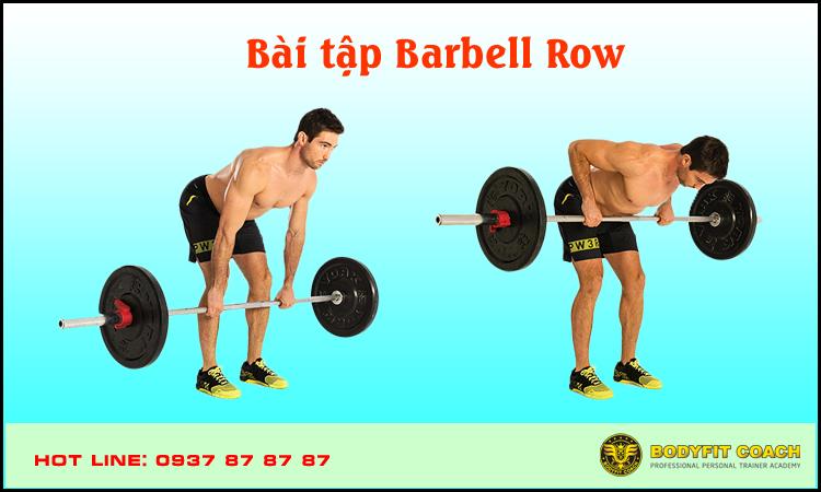 Bài tập Barbell Row