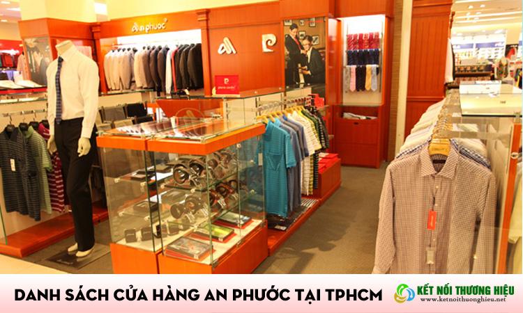 Danh sách hệ thống cửa hàng an phước tại TPHCM
