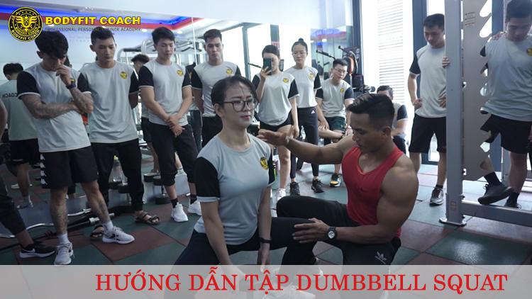 Tập Dumbbell Suat