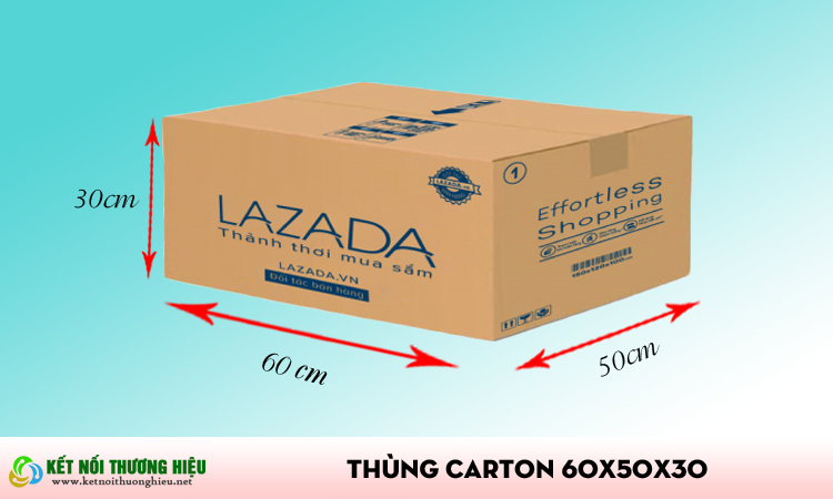 Thùng carton 60x50x30